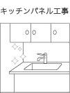 キッチンパネル工事