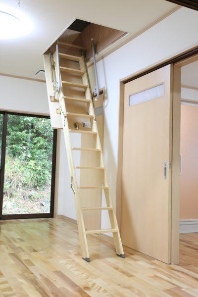 福井県美浜町Y様邸 天井裏への階段アフター