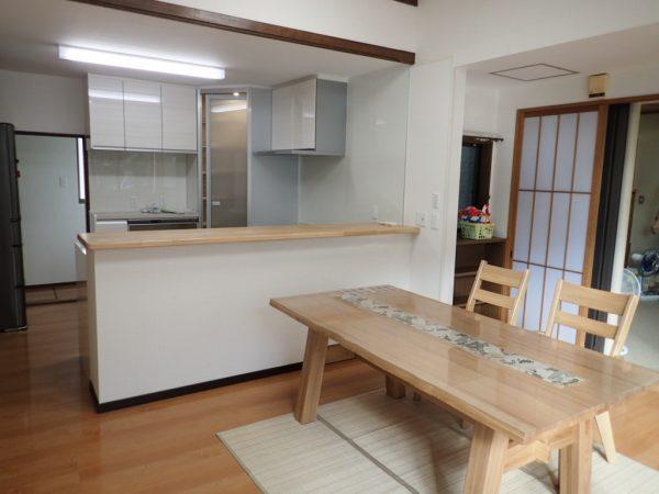 福井県敦賀市F様 キッチンアフター