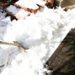 除雪は数日放置しておくと大変です。