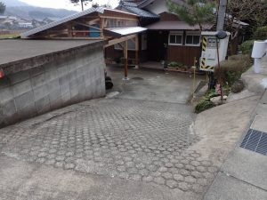 福井県美浜町T様 外構ビフォア