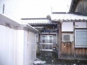 福井県美浜町T様邸 外構ビフォア