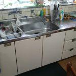 システムキッチン改修工事 1