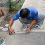 玄関ホール改修工事 5