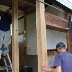 玄関ホール改修工事 3
