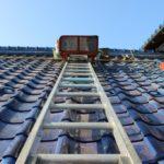 青い屋根!瓦の葺き替え