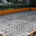只今新築建設中!④基礎工事(型枠)