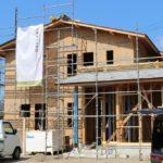只今新築建設中!⑧外壁下地・屋根